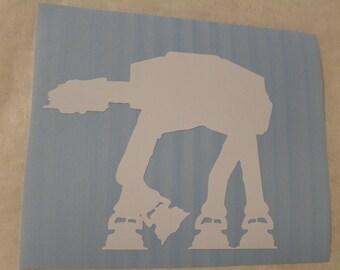 Star Wars AT-AT Decal Any Size Any Colors