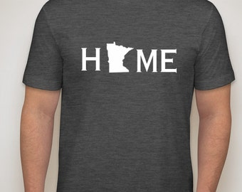 Minnesota home t shirt, Minnesota shirt, Minnesota home