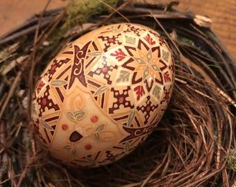 Autumn Pysanka by The Pysanky Nest