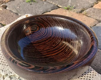 Hand Turned Wenge Bowl