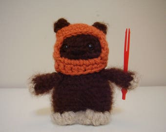 Star Wars Wicket the Ewok Amigurumi