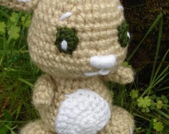 Baby Bunny Crochet Pattern PDF