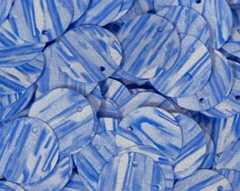 100 shaded blue SEQUINS/KBRS065