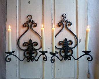 christophe wall vintage sconce belgian set brass gevers light sconces by of for