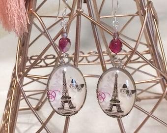 "Boucles d'oreilles ""Balade Romantique """