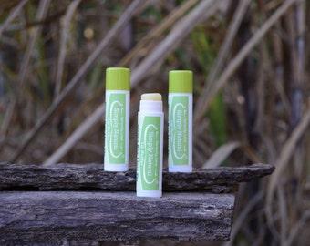 Organic - Lip Butter - Mom's Key Lime Pie - Lip Balm - Lip Salve - Natural