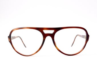 Vintage Aviator Tortoise Glasses | Retro Eyeglasses | Mens | 70s