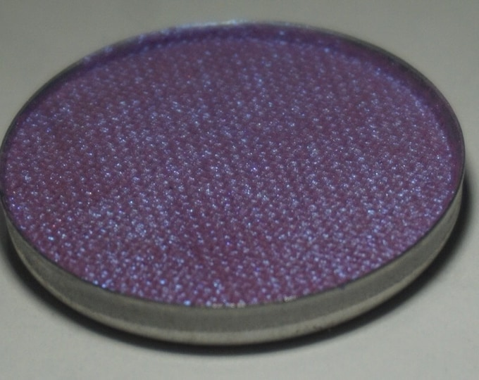 Cygnus Pressed Eyeshadow - Electric Purple with Strong Blue/Violet Polychrome Shift