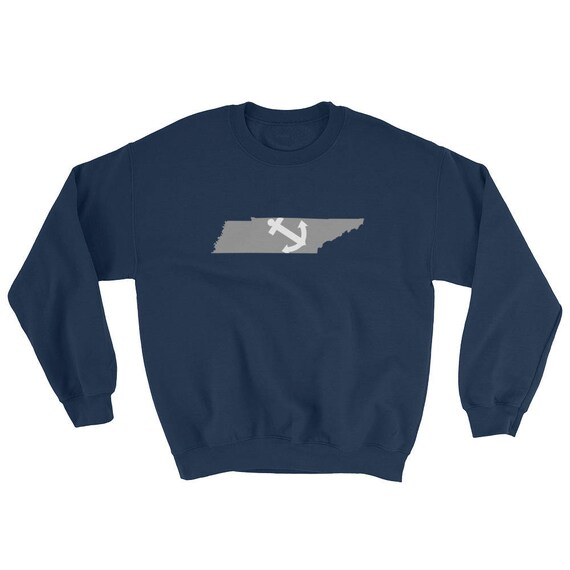 Farragut Tennessee State Anchor Navy Sweatshirt