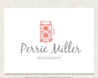 Premade Business Logo and Watermark - Boutique Logo Design - Customized for ANY Business
