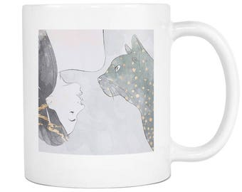 Cat Art Mug [FREE SHIPPING]