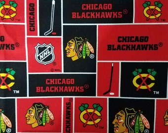 Chicago Blackhawks Fabric