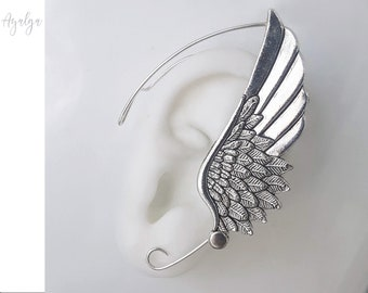 ear cuff  wing - statement jewelry- statement jewelry
