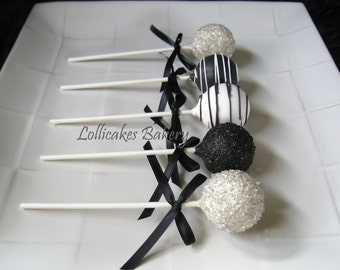 50th Birthday Party: Cake Pops Made to Order with High Quality Ingredients, 1 Dozen Cake Pops