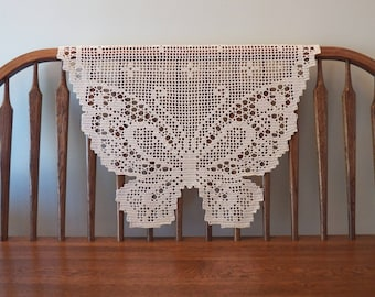 BUTTERFLIES   Handmade Crochet Doilies & Table Runners