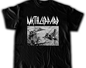 Meth Leppard Beach Shirt