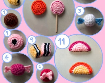 Amigurumi Candy Pattern Collection PDF