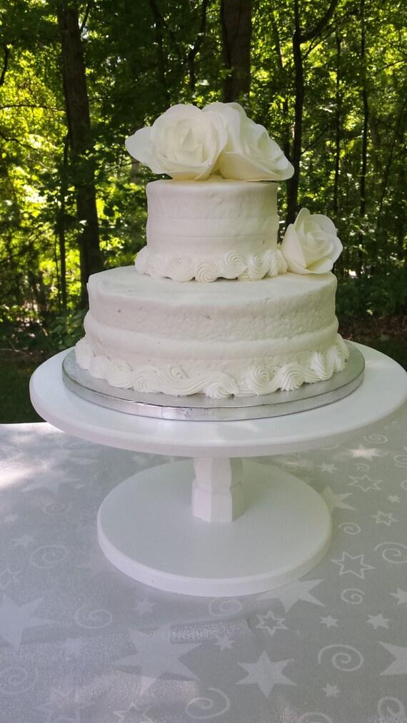 12 Inch Cake Stand Wood Cake Stand Wedding Cake Stand Round