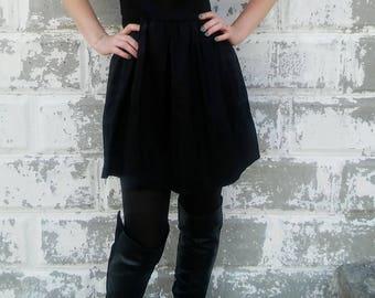 Little Black A-Line Dress