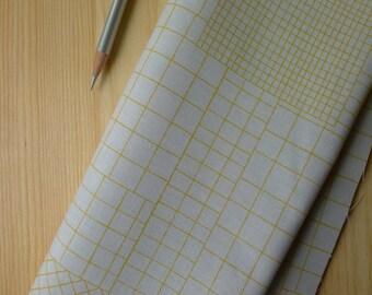 Doe Intersections in Light Grey AFR-15025-12 Carolyn Friedlander for Robert Kaufman - Half Yard - Modern Quilting Sewing Cotton Fabric