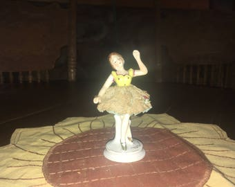 Vintage Occupied Japan Ballerina Figurine