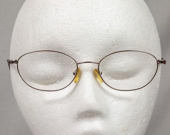 Eyeglass frames Bulova 14K gold Rose Petal Made in Venice Oval shaped Eyeglasses  Excellent condition Women's glasses
