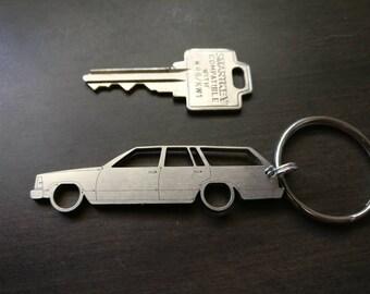 G-Body Malibu Wagon Laser Cut Keychains