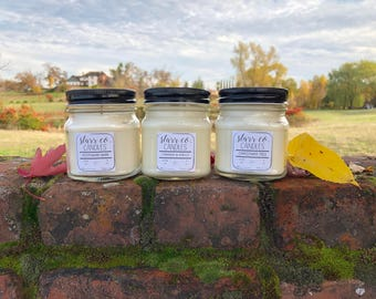 3 pack discount- 9oz Soy Candles