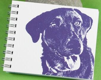 Labrador Mini Journal, Dog Journal, Dog Notebook, Labrador Retriever
