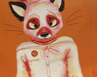 Fantastic Mr. Fox Ash Print