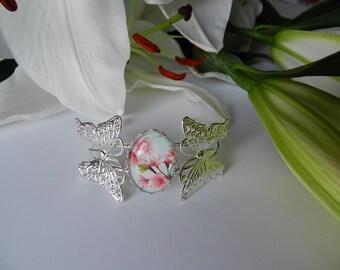 Cherry Blossom Butterfly bracelet.