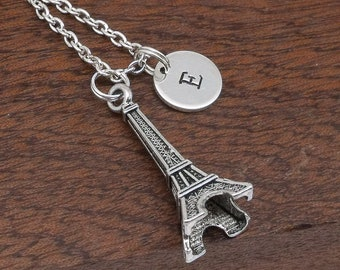 Paris Eiffel Tower necklace, Eiffel Tower jewellery, Paris Eiffel tower gift for her, personalised jewellery