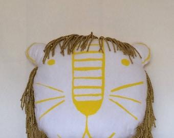 Lion - Lion Cushion - Lion Puff - Lion Pillow - Lion Decoration