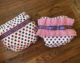 Waterproof Swimwear Diaper Cover-Diaper cover for Boys-Diaper Cover for Girls-4th of July Waterproof Diaper Cover-Boys Girl Swimwear