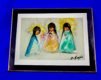 The Threesome by Ted DeGrazia