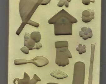 "Sculpy ""Grow A Garden"" push mold"