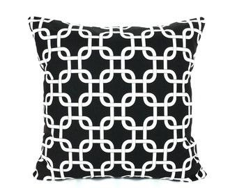 Black White Throw Pillow Cushion Cover Black Home Decor Accent Pillow Decorative Sofa Couch Pillow Nursery Shams
