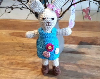 Crochet Easter Bunny, Bunny for Easter, crochet Amigurumi rabbit, animal bunny, stuffed animal