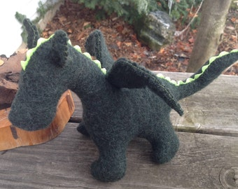 Forest Green Dragon Baby