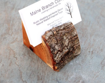 Tree Branch Business Card Holder
