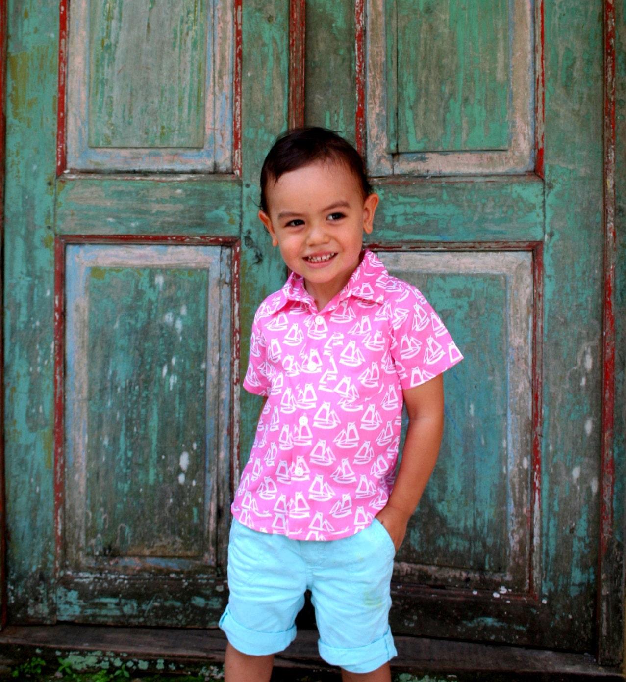 Boys button up shirtBoys shirttoddler shirtbaby boy