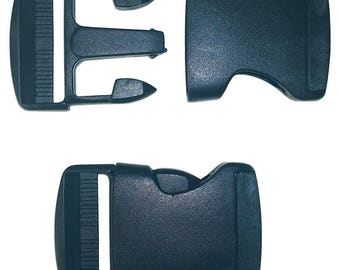 Dual Adjustable Easy Side Release Buckles 25mm - 38mm