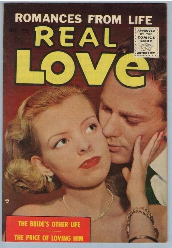 Real Love 71 Dec 1955 FI-VF (7.0)