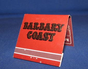BARBARY COAST MATCHBOOK Las Vegas Nevada Souvenir