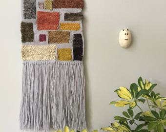 Hip To Be Square//Woven Tapestry//Wall Decor