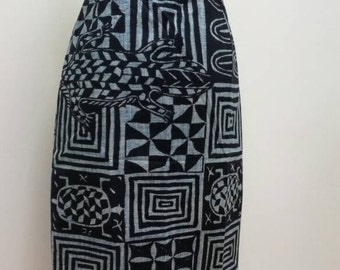 Pencil skirt in size 36 Ndop. Pencil skirt made with name size 6