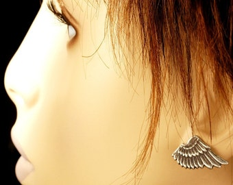 Little Elfin Angel -- The ORIGINAL Winged Elf Earrings - For Angels, Nymphs, Sprites And YOU - With Surgical Steel Hypoallergenic Posts