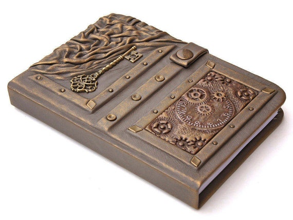 Personalized Steampunk Journal