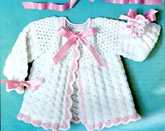 Shell Stitch Layette Etsy