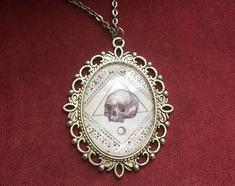 Silver Skull Necklace
